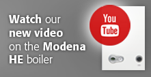 Watch our new video to see how easy it is to commission and maintain the Modena HE boiler