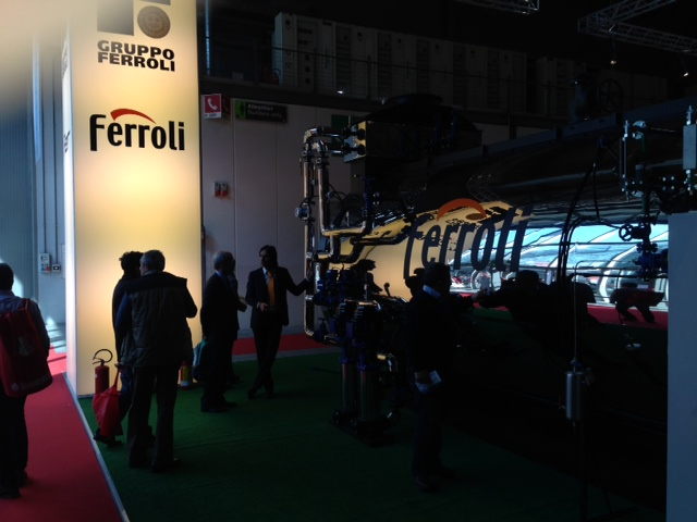 Ferroli at MCE 2014