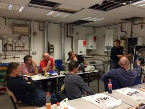 Ferroli Training at Ystrad Mynach College 1