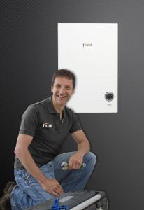 Installersmate man & boiler image