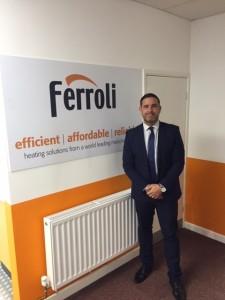 Mike Wagstaff, National Sales Manager, Ferroli UK